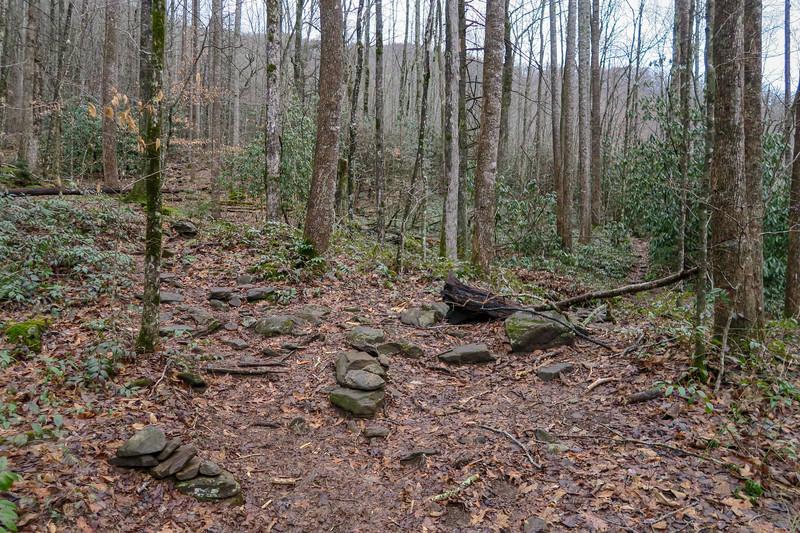 Big East Fork Trail -- 3,420'
