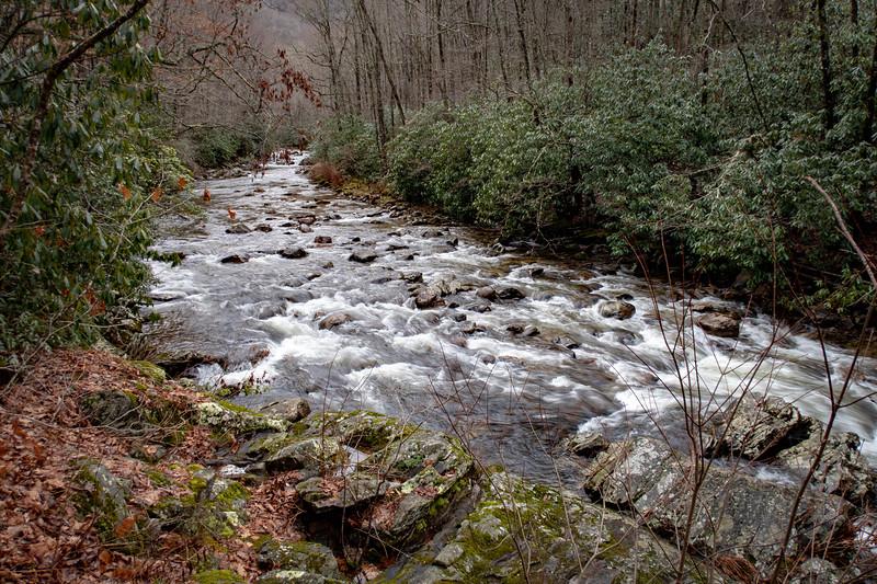 East Fork Pigeon River -- 3,380'