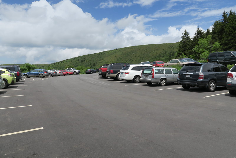 Ivestor Gap Trailhead Parking - 5,820'