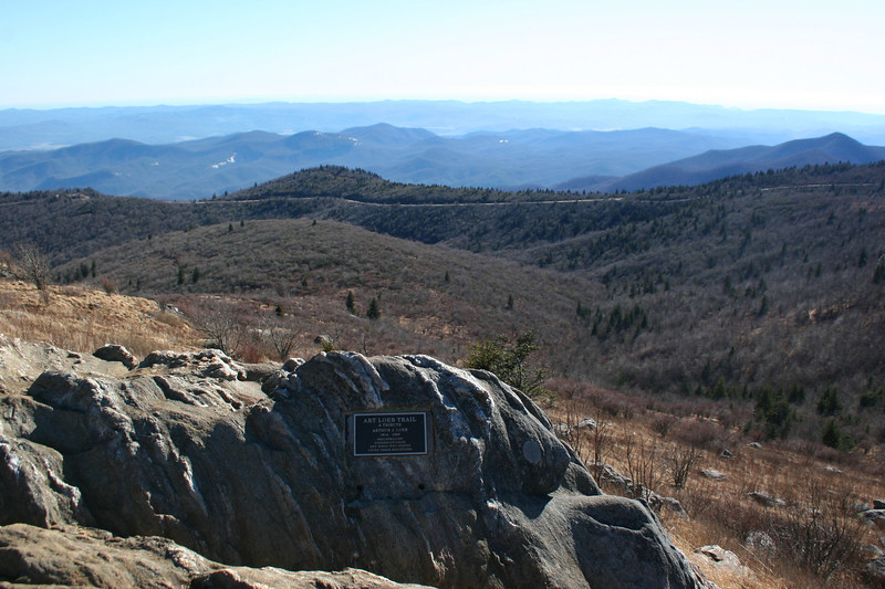 Welcome to the summit of Black Balsam Knob...6,214'.