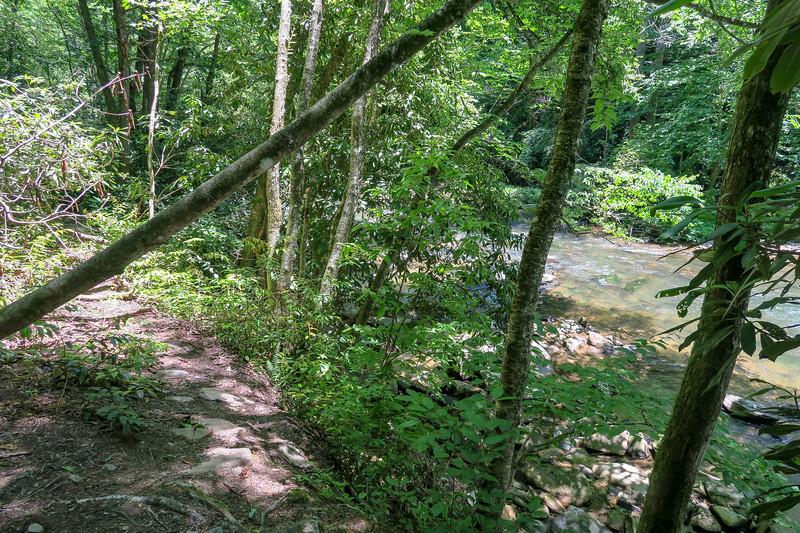Boxcar Falls/Rail Grade Path -- 2,390'