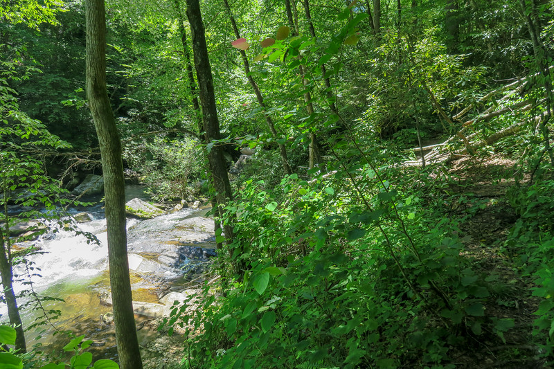 Boxcar Falls/Rail Grade Path -- 2,440'