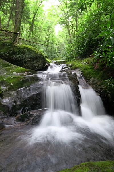 Buckeye Creek Cascade -- 4,370'