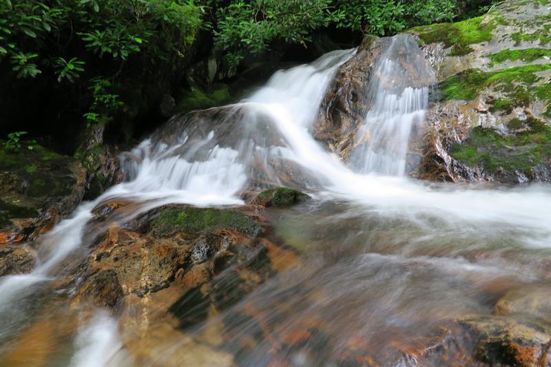 Buckeye Creek Cascade -- 4,350'