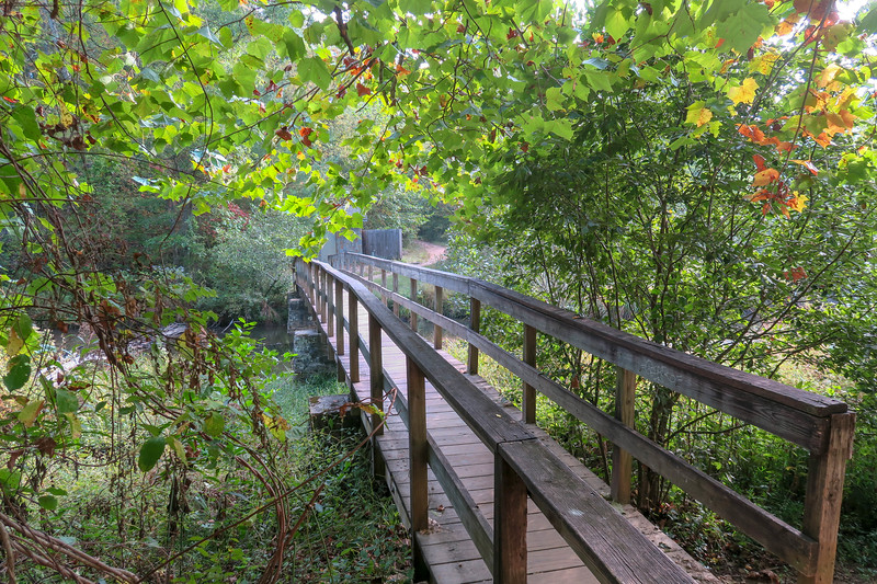 Bent Creek Footbridge -- 2,150'