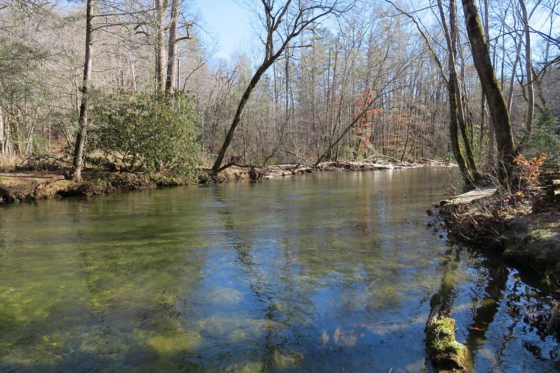 Davidson River -- 2,350'
