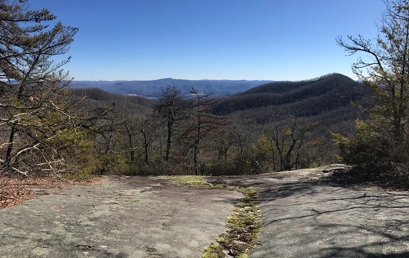 Cedar Rock Trail -- 3,880'