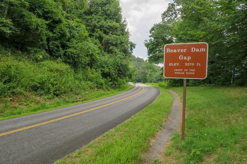 Blue Ridge Parkway -- 3,580'