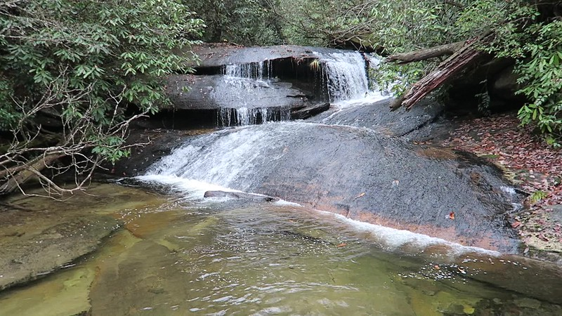 Upper Cedar Rock Creek Falls