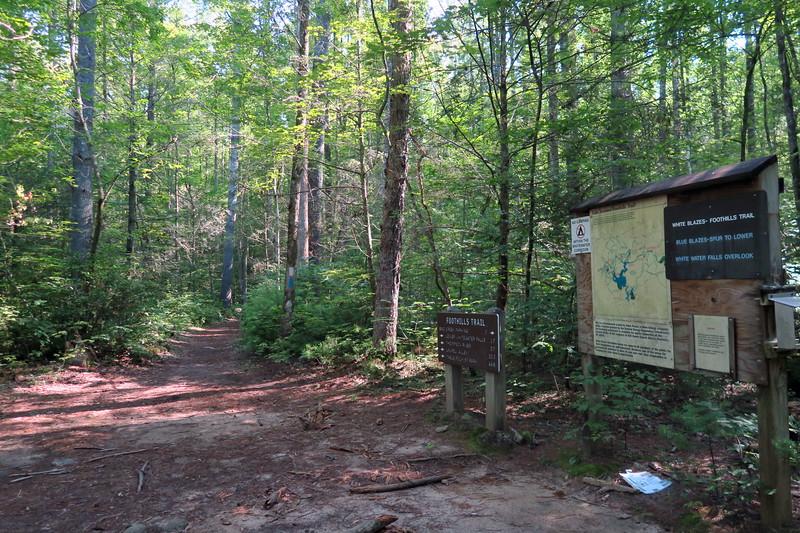 Bad Creek Spur-Foothills Trail Junction -- 1,860'
