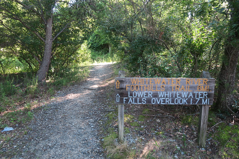 Bad Creek Foothills Trail Access Point -- 1,850'