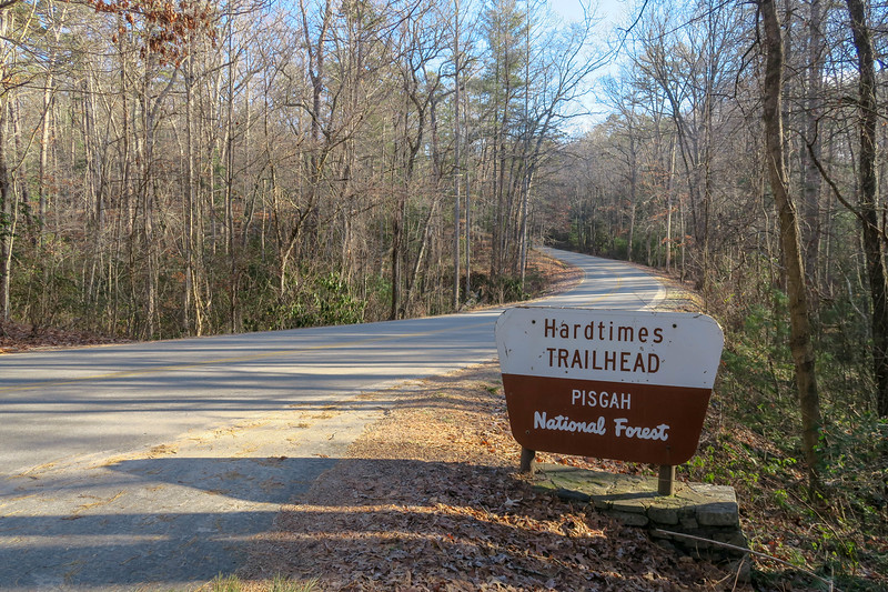 Hardtimes Trailhead -- 2,180'