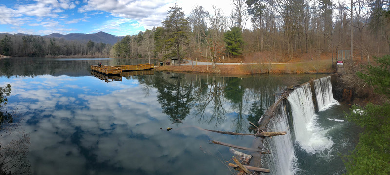 Lake Powhatan -- 2,160'