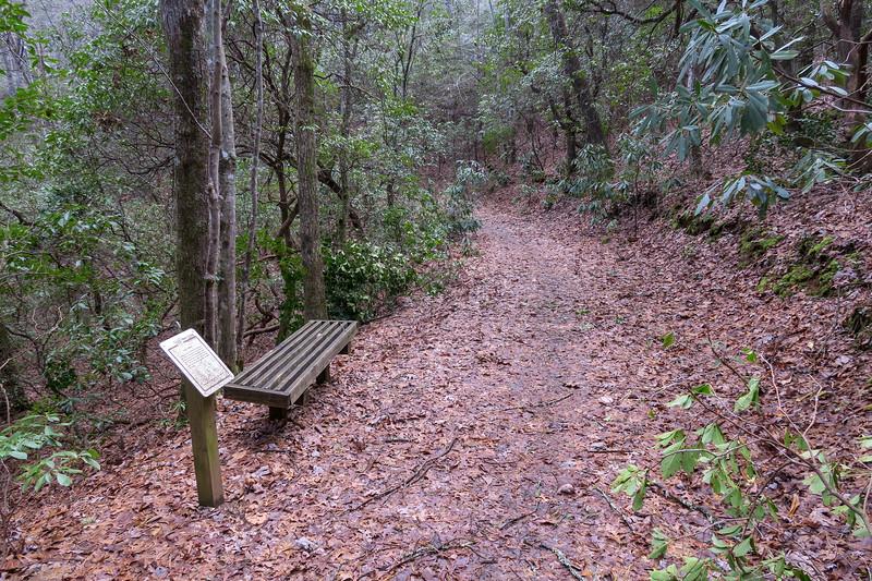 Explorer Loop Trail -- 2,280'