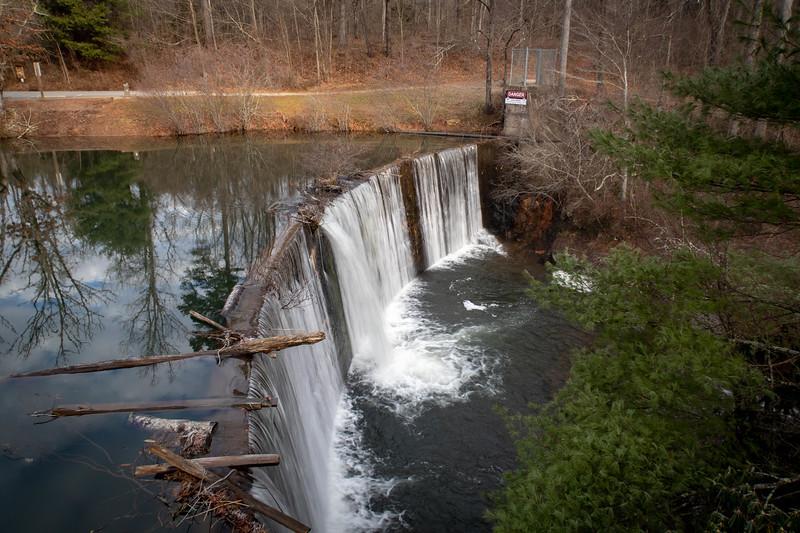 Lake Powhatan Dam -- 2,160'