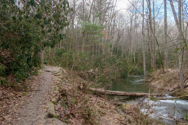 Homestead Trail -- 2,140'