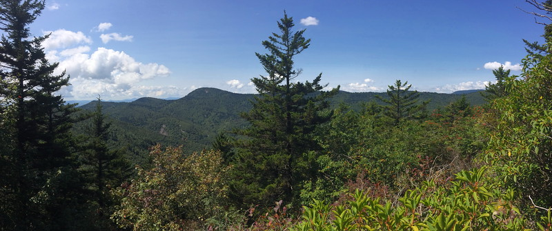 Little Sam Knob -- 5,862'