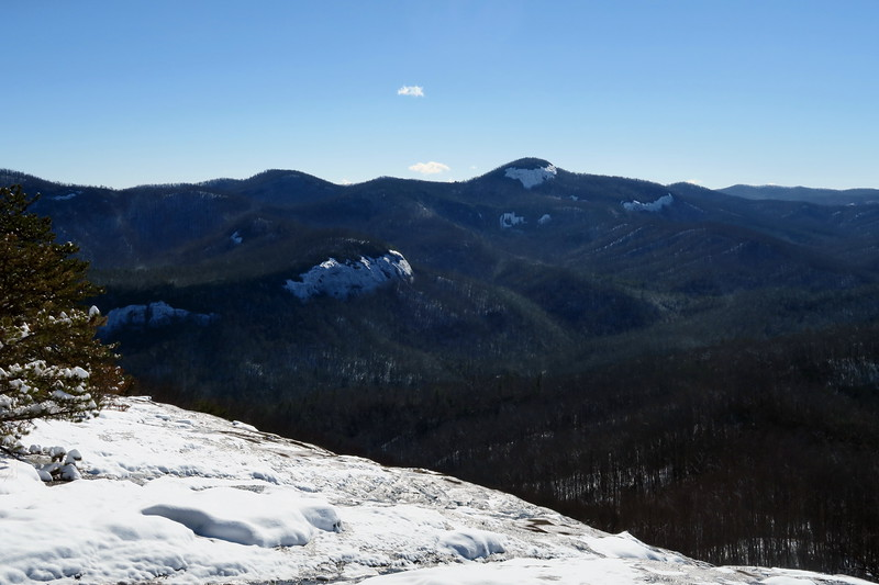 Looking Glass Rock (West Cliff) - 3,480'