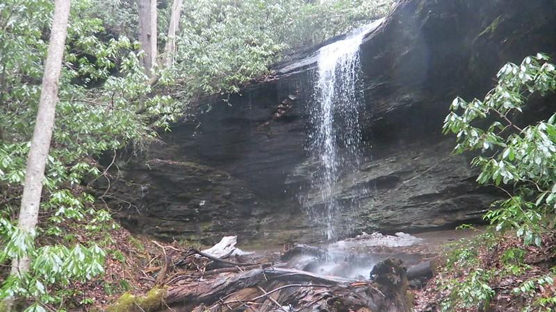 Unnamed Falls @ Moore Cove -- 2,620'