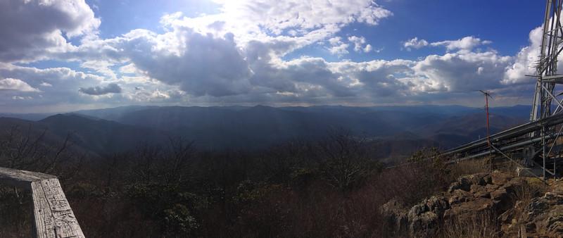 Mount Pisgah Summit - 5,721'