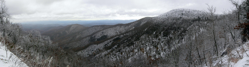 Buck Springs Gap Overlook...