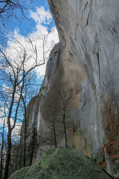 North Face of Looking Glass Rock -- 3,300'