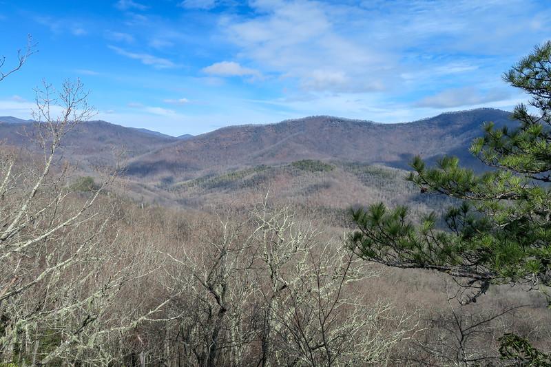 Overlook Rock (Lower Overlook) -- 3,450'
