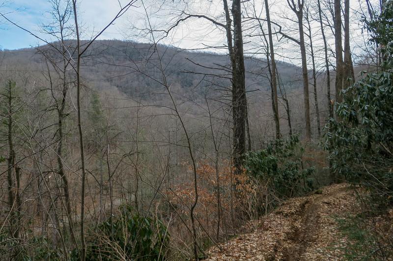 Bennett Gap Trail -- 2,420'