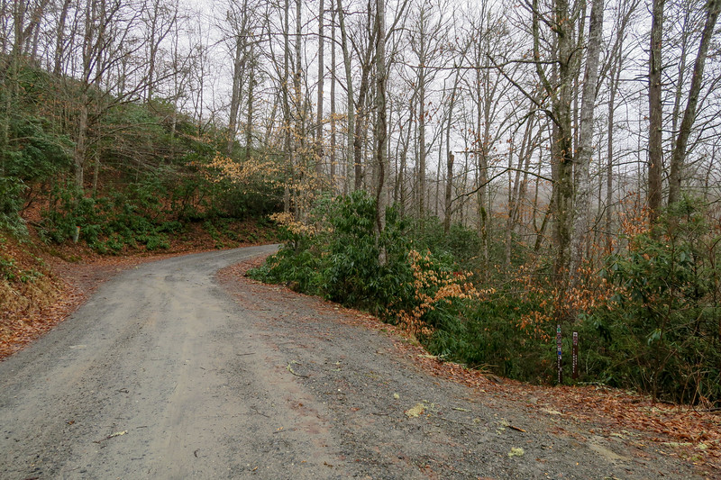 Avery Creek Trailhead (F.R. 477) -- 2,540'