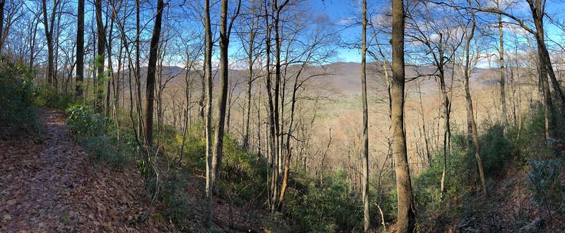 Barnett Branch Trail -- 3,680'