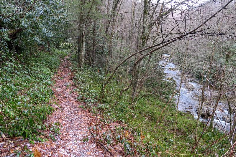 Big East Fork Trail -- 3,840'