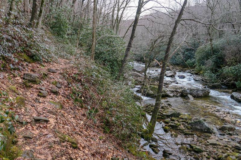 Big East Fork Trail -- 3,700'