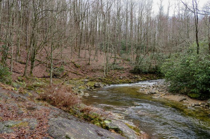 Big East Fork Trail -- 3,460'