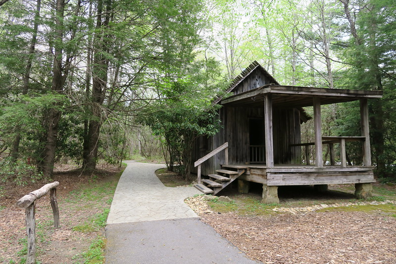 Biltmore Campus Trail -- Students Quarters ('Hell Hole') -- 3,270'