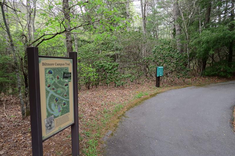 Biltmore Campus Trail -- 3,290'