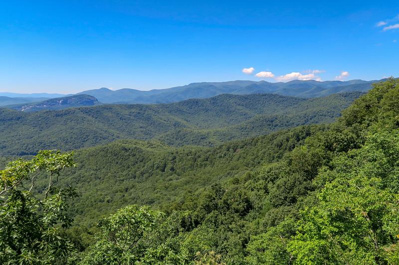 Black Mountain Ridge Overlook -- 4,000'