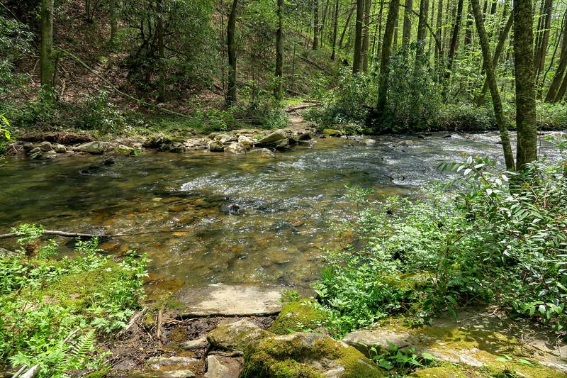 Bradley Creek Trail @ Ford #2 (SB)/#13 (NB) -- 2,590'