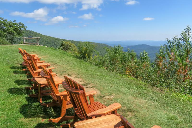 Buck Spring/Mountains-to-Sea Trail @ Pisgah Inn -- 4,950'