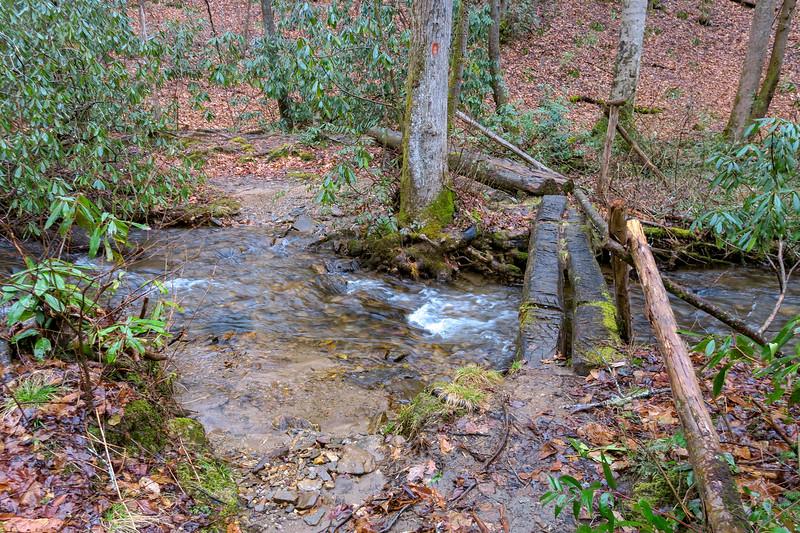 Buckhorn Gap Trail -- 2,620'