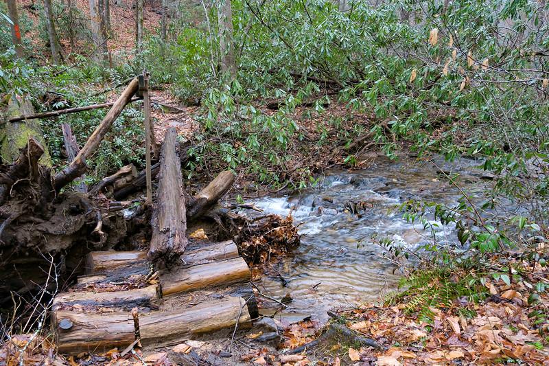 Buckhorn Gap Trail -- 2,610'