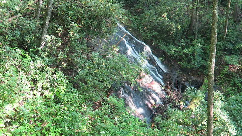 Waterfall on Caney Bottom Branch -- 2,840'