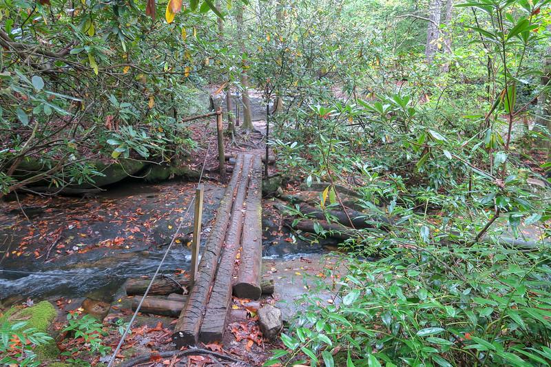 Cat Gap Loop Trail -- 2,580'
