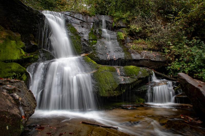 Lower Cedar Rock Creek Falls -- 2,500'