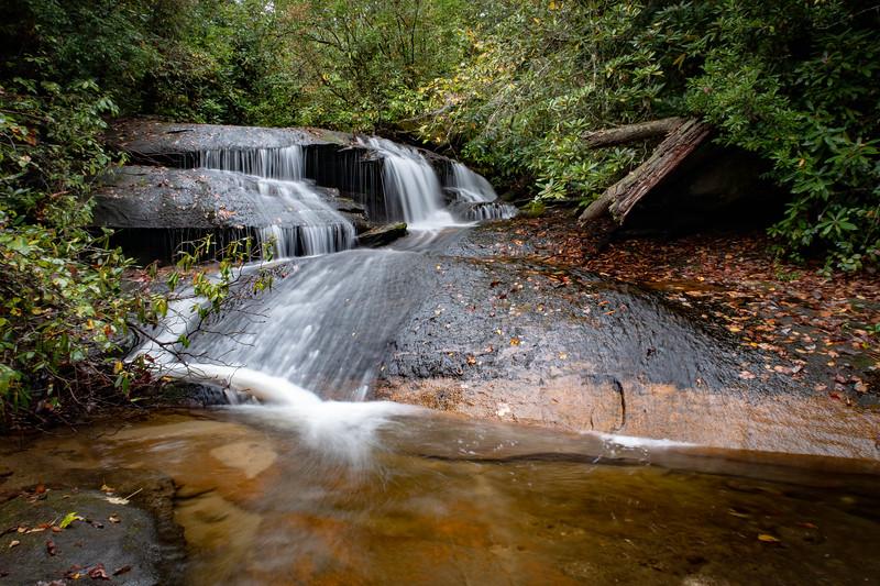 Upper Cedar Rock Creek Falls -- 2,560'