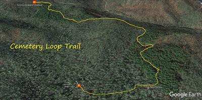 Cemetery Loop Trail Map