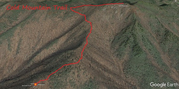 Cold Mountain Trail Map