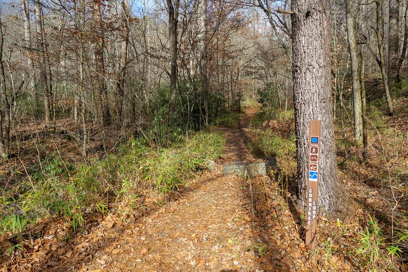 Coontree Loop Trail -- 2,250'