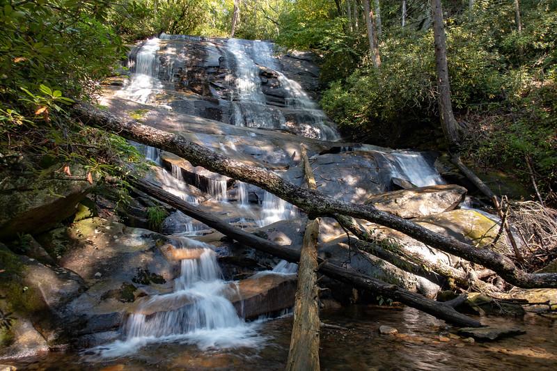Cove Creek Falls -- 2,760'