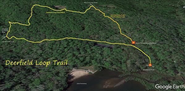 Deerfield Loop Trail Map
