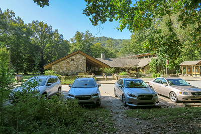 Pisgah Ranger Station/Visitor Center Trailhead